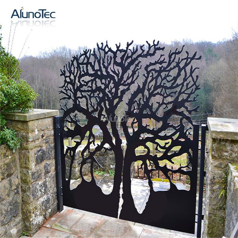 factory wholesale aluminum garden fence panel buy fence. Black Bedroom Furniture Sets. Home Design Ideas