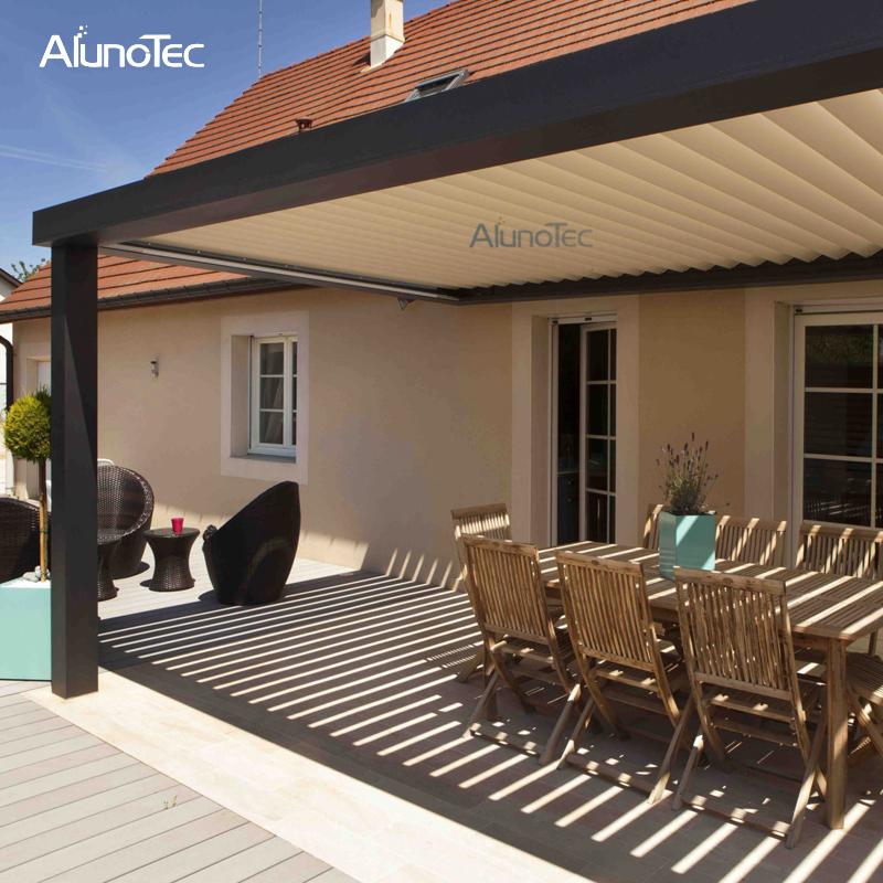 Outdoor Metal Aluminium Pergolas For Patio Louvered Roof Pergola Kits  Pergola Roof System - Outdoor Metal Aluminium Pergolas For Patio Louvered Roof Pergola