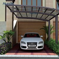 Waterproof Outdoor Aluminum Carport Sunshade Cover